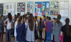 Godišnja izložba likovnih radova učenika osnovnih škola HNK-a