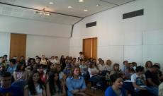 Prvo okupljanje srednjoškolaca HNK-a na mirovnom događaju